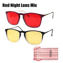 SOOLALA негабаритные мужские и женские очки с полной оправой, анти-синий светильник, очки для чтения, прозрачные линзы, очки для дальнозоркости,...(Китай)