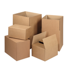Wholesale custom folded rigid cardboard corrugated shipping boxes for packing