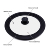 18/20/22cm Universal Silicone Glass for Cooking Pots and Pans set Nonstick Cookware Sets Accessories