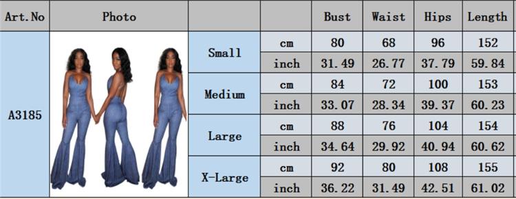 2020  Summer Plus Size Jumpsuit Women Denim Jumpsuit