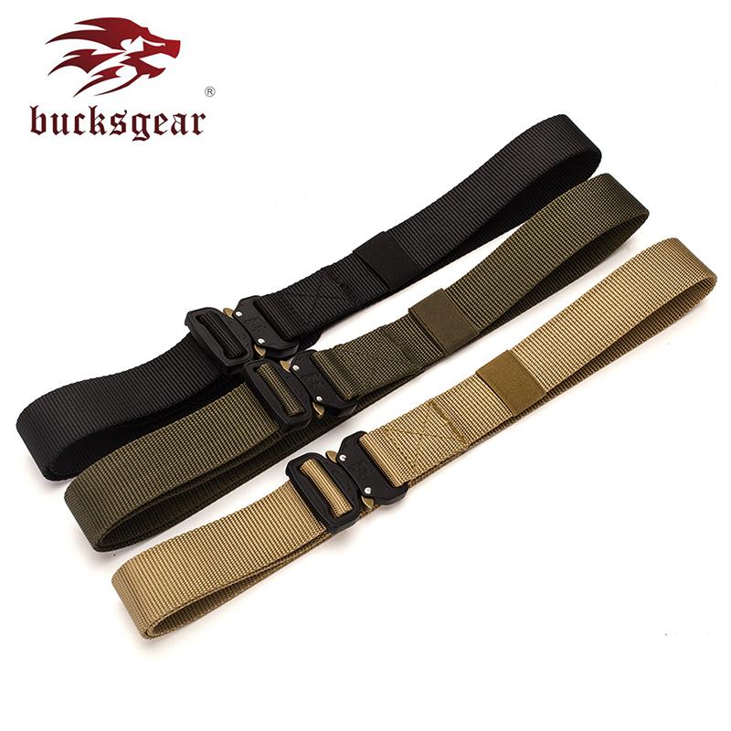 Bucksgear Manufacturer Wholesale Custom Design Tactical Military Waist Belt outdoor hunting belt painitball waistband