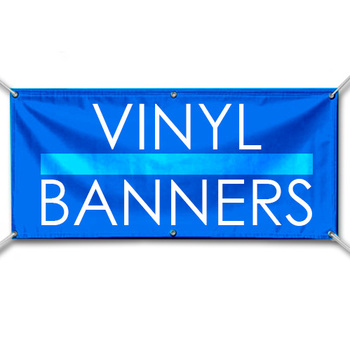 Digital Printing on Vinyl Mesh banner/ Full Color Printed Banner Vinyl Sign/ Advertising Banner with Grommets