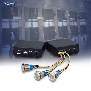 MPC100-AUDIO 3.5mm USB/TF 3 LED Push Button Audio Player