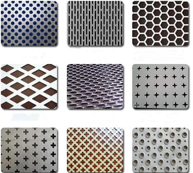 Metallo perforato per prezzo kg ss foglio di piastra in acciaio inox