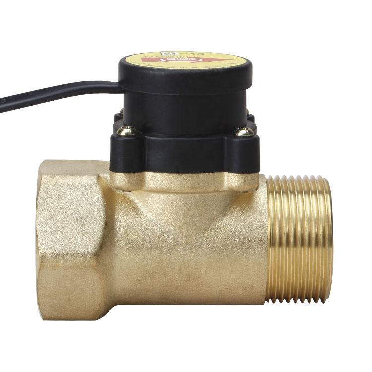 High Power Booster Pump Brass Water Flow Switch 1 Inch