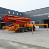High quality korea 21m concrete pump truck for sale