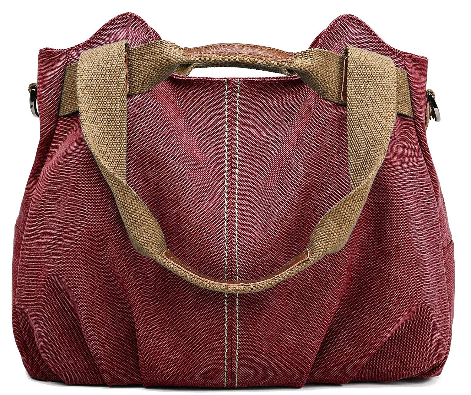 FREE SAMPLE Women's Ladies Casual Vintage Hobo Canvas Daily Purse Top Handle Shoulder Tote Shopper Handbag
