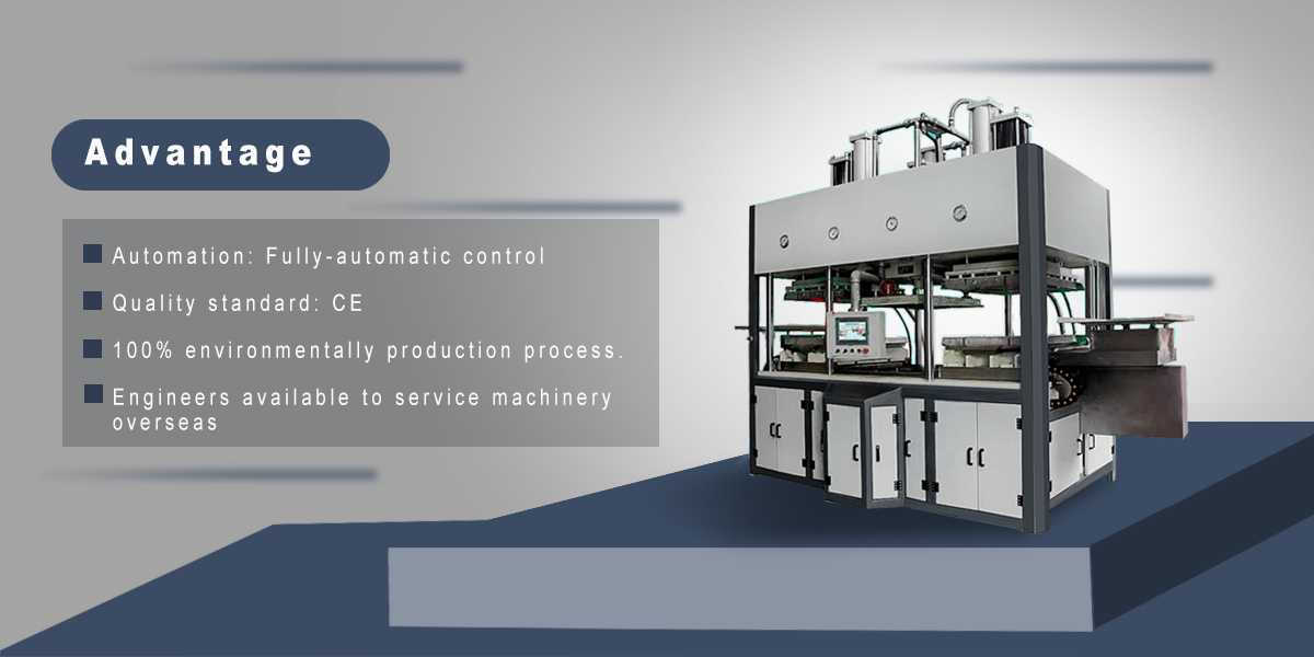 pulp molding machine sugar cane bagasse pulp machine for factory