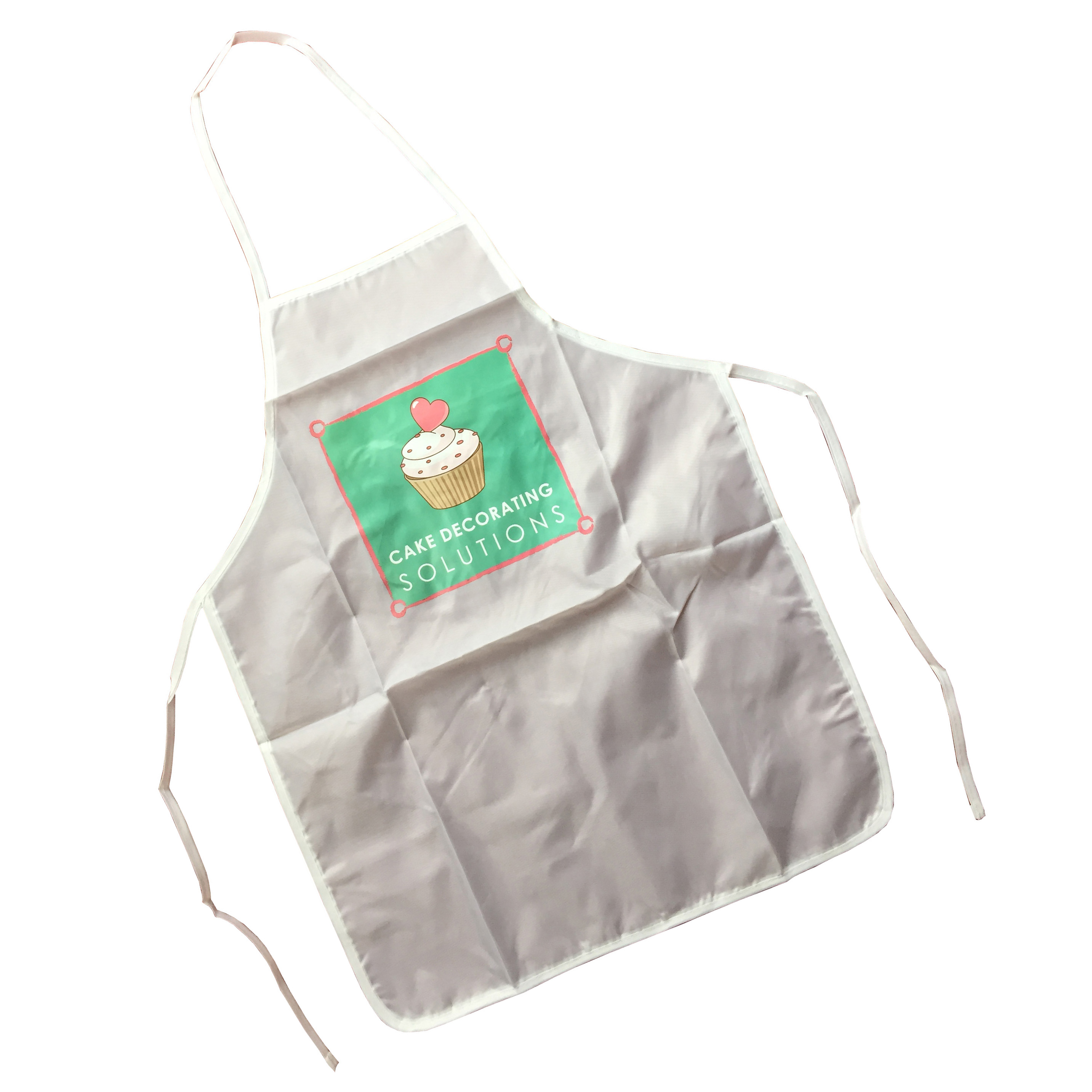 durable pink apron for kids or promotion