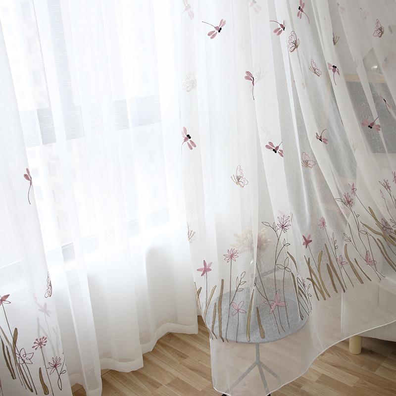 Venta al por mayor cortinas para cuarto de niña-Compre ...