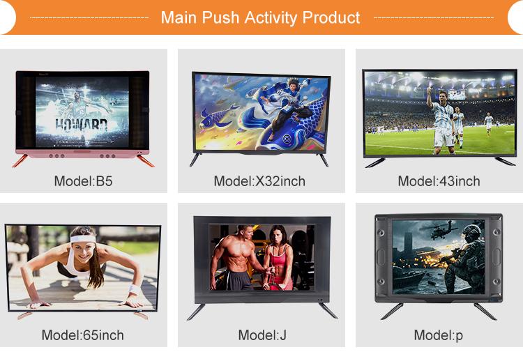 Prezzo di fabbrica a buon mercato tcl solare tv tv a schermo con buona qualità