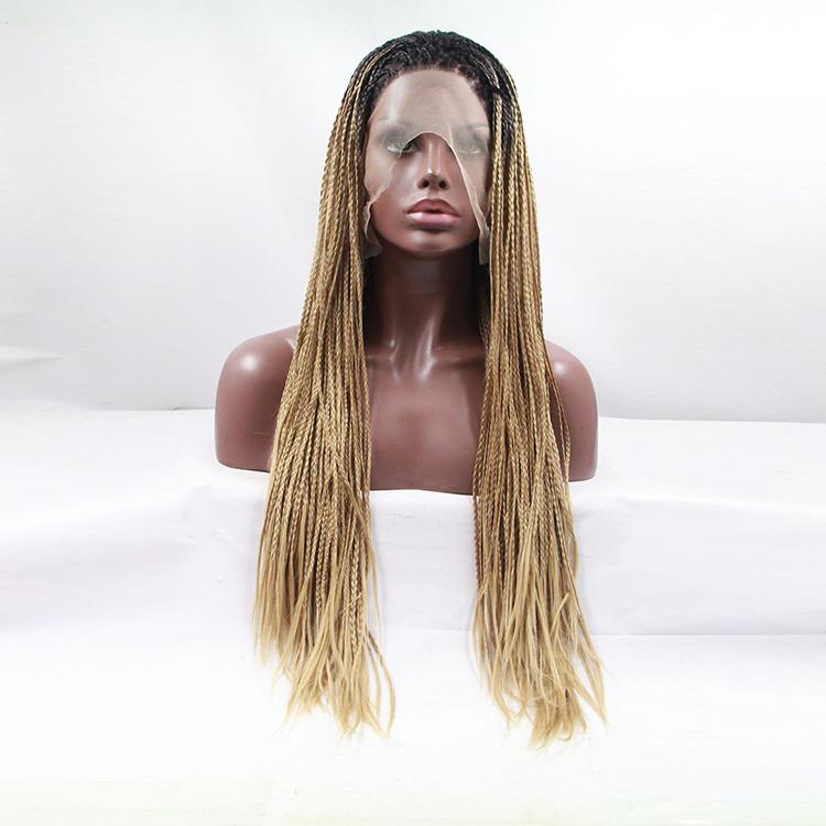 parrucca trecce bionde