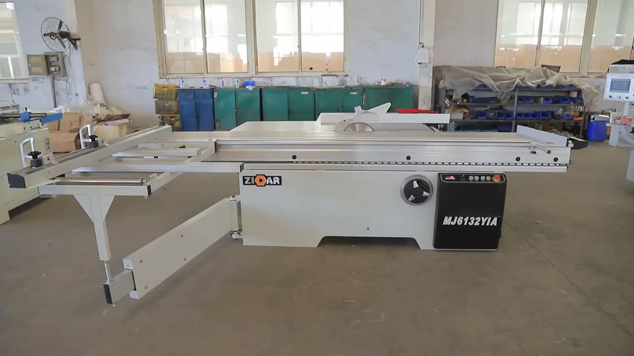ZICAR good quality sliding table panel saw table saw for woodworking sliding MJ6132YIA
