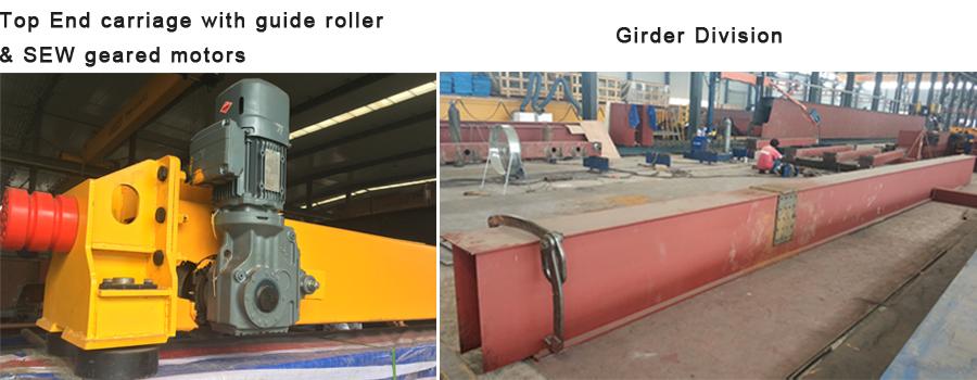 Europa Stijl Single Ligger Railless Portaalkraan Ontwerp 5 Ton 10 Ton Prijs