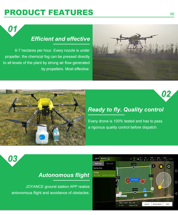 2020 new drone agricultural sprayer 10L 15L 16L 20L drone sprayer in agriculture