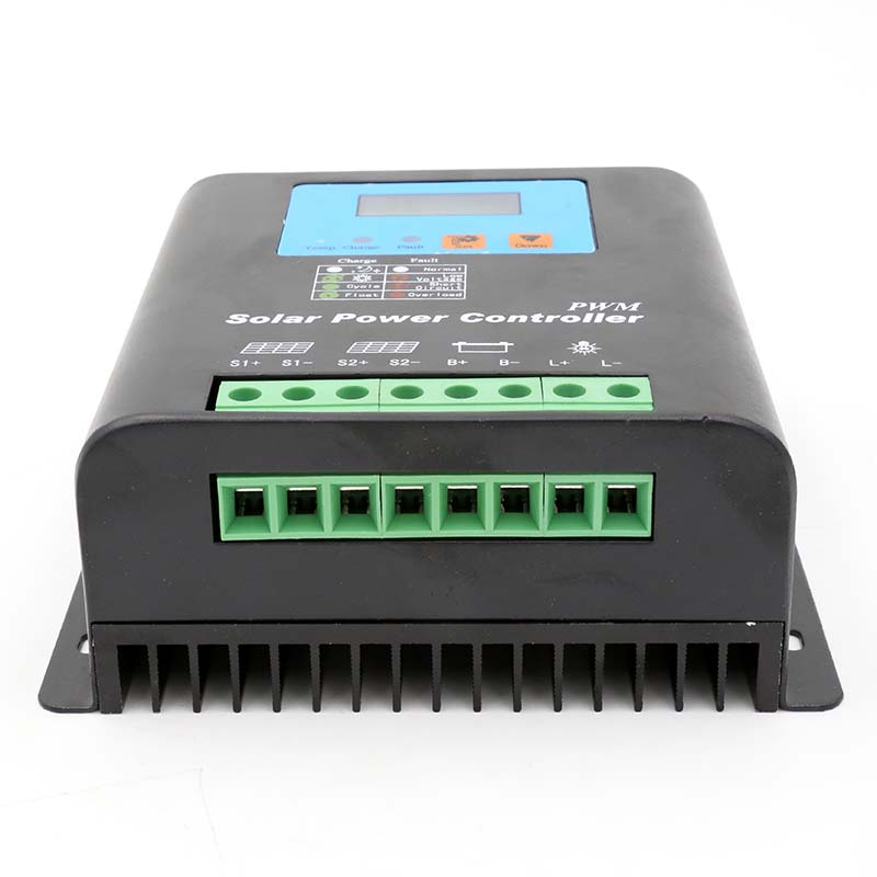 12v 48v 40a 100a 속도 방수 펌프 태양열 충전 컨트롤러 세대 거리 조명