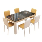 Glass Dining Set Dining Tables And Chairs Set Custom Furniture Glass Dining Table And Chair Set