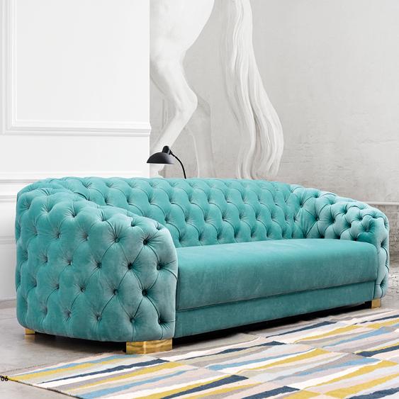 YouYou button velvet fabric sofa for house