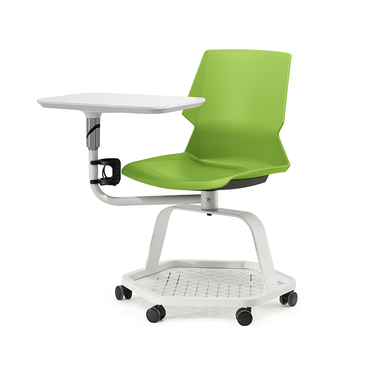 MIGE Wholesale University Student Study Training Room Chairs With Wheels
