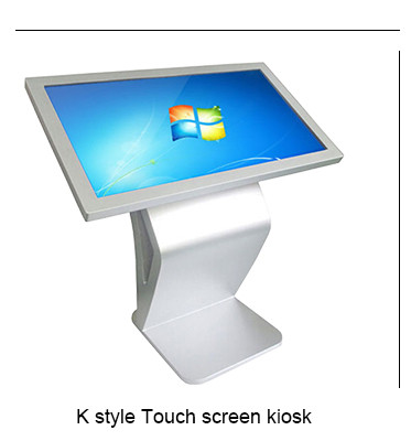 55 inch indoor interactieve LCD digital signage touchscreen lcd kiosk displays