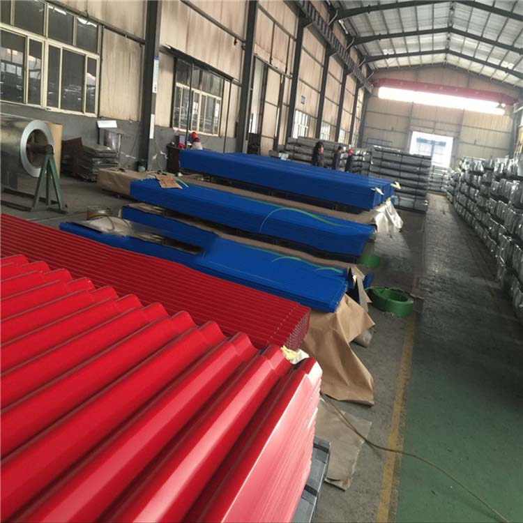 Color Carbon Galvanized Balance Ripple Steel Sheet
