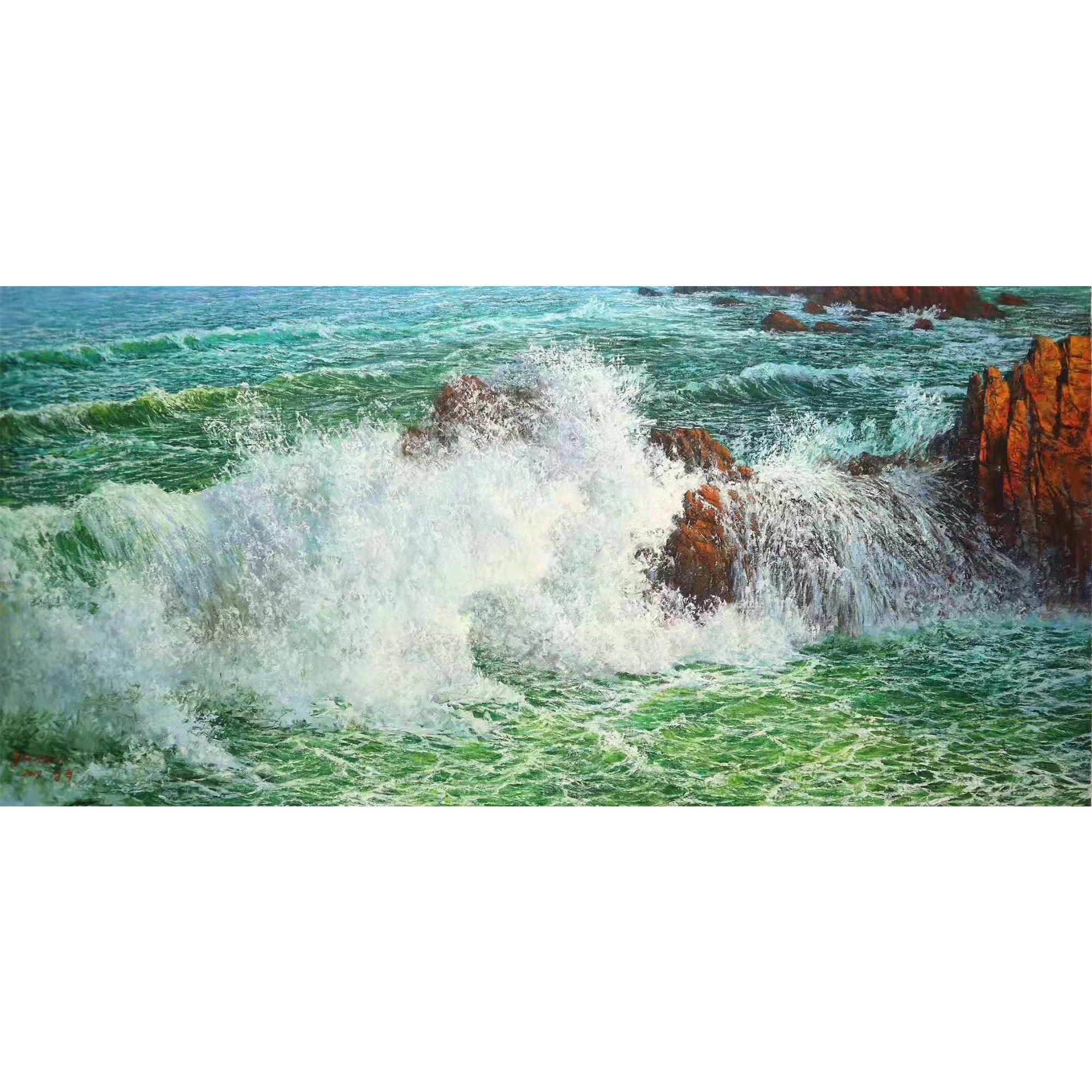 dipinti di paesaggi marini all\'ingrosso-Acquista online i ...