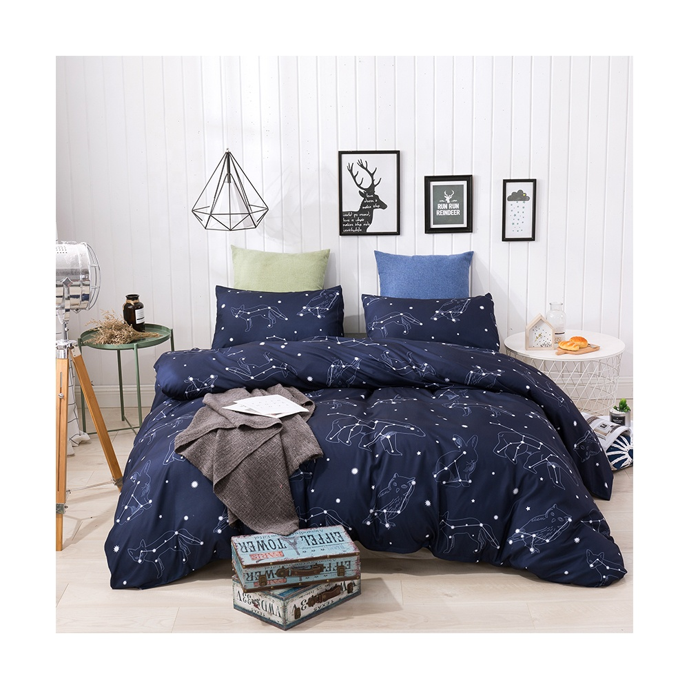 Wuxi excellent design team polyester microfibre kids <strong>bed</strong> sheet duvet cover <strong>set</strong>