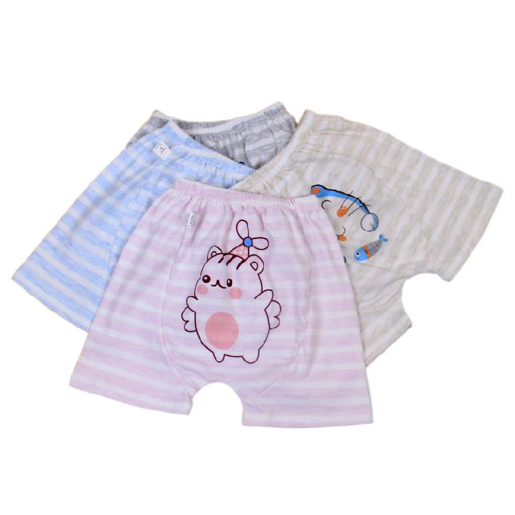 Hot Selling Organic Coloured Cotton Baby Polypropylene Pants 0-3 Years Old Baby Shorts Hallen Pants