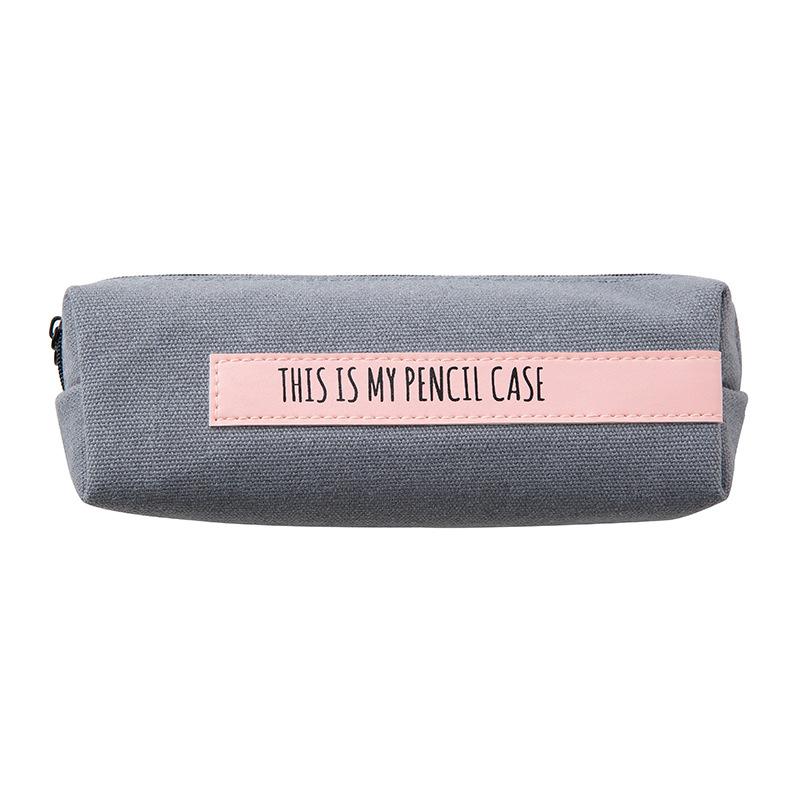 Красочные пенал для школы письмо PencilCase сетки Карандаш сумка маленькая ручка Box школьные принадлежности канцелярские подарки