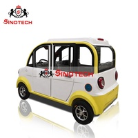 2019 3 seats electric mini car / passenger electric car/ 4 wheel electric mobility enclosed scooter