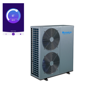 With 20 Years Experience 8KW - 72KW EVI Heat Pump Water Heater Air Conditioner with WIFI Control