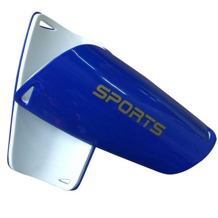 HYL-HTB001 compression Personnalisée en fibre de carbone enfants football protège-tibia football hockey en plastique de sublimation genou shin instep garde