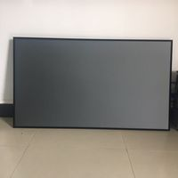 120''Ultra Short Throw Fixed Frame Projector Screen projection alr for laser projector ambient light rejecting projection screen