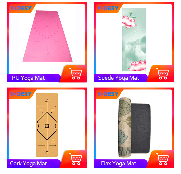 Yoga Mat Wholesale Print Thickened NBR Material Fitness Yoga Mat