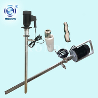 HS high viscosity food grade stainless steel electric screw drum pump for honey, cream, tomato paste, etc