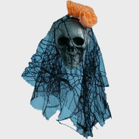 2019 Halloween party decorations hanging skeletons