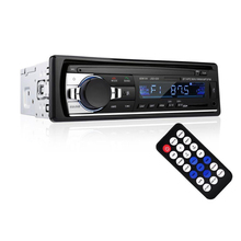 BT Autoradio Auto Stereo Radio FM Aux Eingang Empfänger SD USB 12V In-dash 1 din Auto MP3 <span class=keywords><strong>multimedia</strong></span>-Player