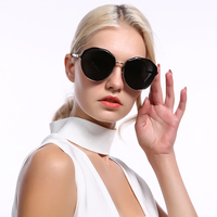 High-quality Polarized smart Sunglasses Fashionable Colourful round Sun glasses for women
