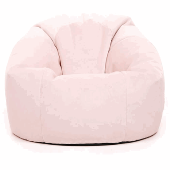Classic fine workmanship rose dust pink multifunction large velvet living room rest hot selling bean bag chair pink