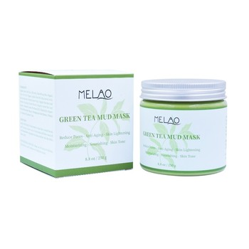 Natural Organic Green Tea Mud Mask For Skin White Anti-Wrinkle Smoothing facial