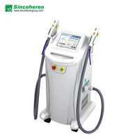 Smooth Cool IPL+SHR Beauty Device 2in1 suitable for many kind of skin type IPL double handles Laser Hair Removal machine
