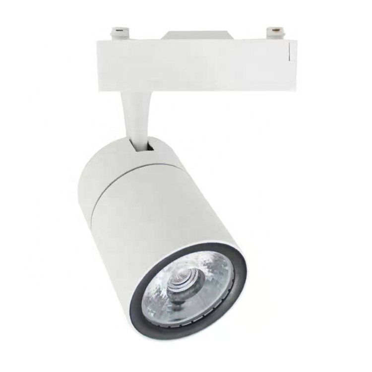 10W 20W 30W Track Spot Lighting Fixtures Surface Mounted LED Linear COB Track Light