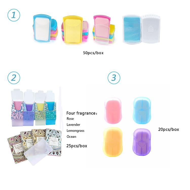 New 25Pcs Cartoon Easy Dissolving Luxury Thin Paper Hand Soap Sheets