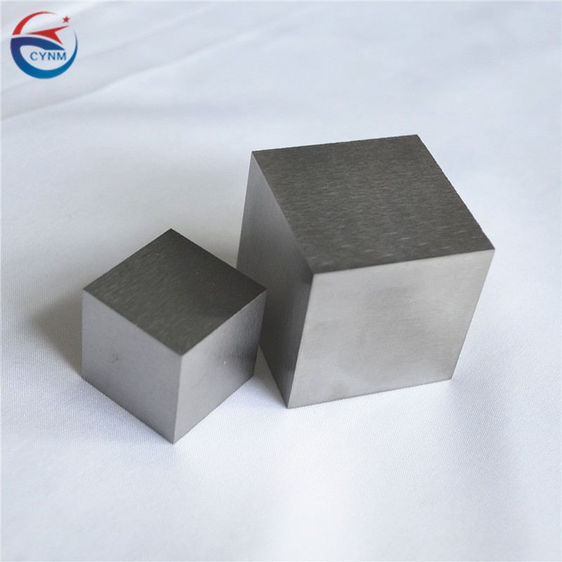 China factory custom size tungsten ingot and cube