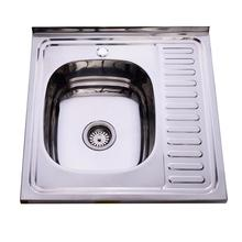 304 Single Bowl Stainless Steel <span class=keywords><strong>Kitchen</strong></span> <span class=keywords><strong>Sink</strong></span> 304 Rusia Wastafel