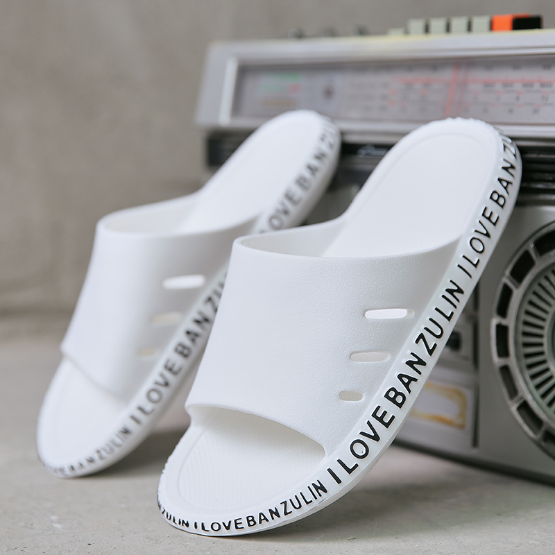 Wear Resistance Wholesale Custom Slippers Mens Slides Footwear