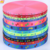 Custom printed eco-friendly decorative colorful thick bias webbing polyester jacquard tape