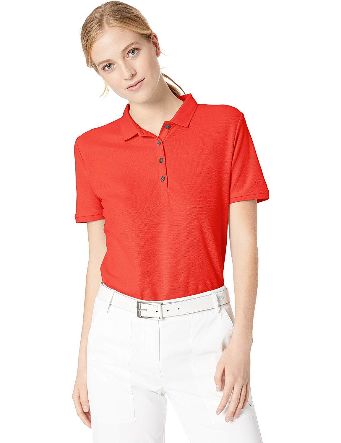 Wholesale high quality custom logo women's stand collar polo t shirt