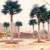 Villa Park Garden Landscape Endurable Anti-uv Fadeless Large Outdoor Plastic Artificial Trees Palm Tree