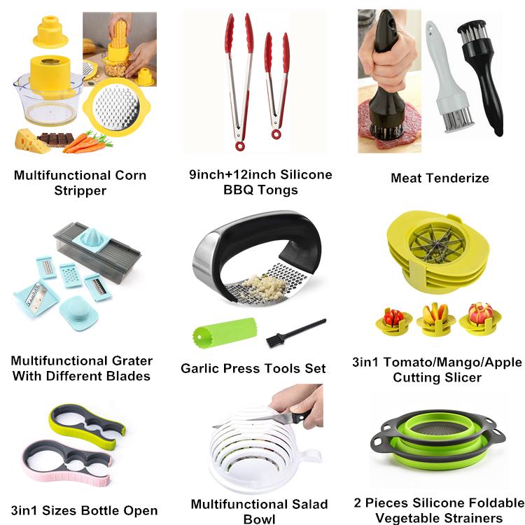 2020 neue Produkte Kaufen Online 5 In1 Obst Apple Slicer Orion Kartoffel Cut Set Multifunktionale Gemüse Cutter